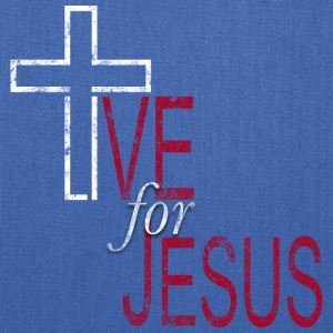 Live for Jesus - Tote Bag