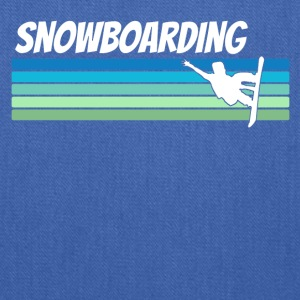 Retro Snowboarding - Tote Bag
