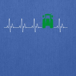 Heartbeat Traktor green - Tote Bag