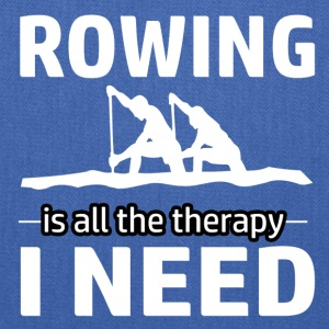 Rowing is my therapy - Tote Bag