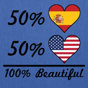 50% Spanish 50% American 100% Beautiful - Tote Bag
