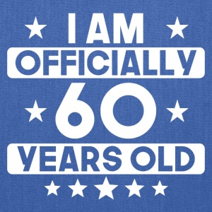 I Am Officially 60 Years Old 60th Birthday - Tote Bag