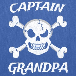 Captain Grandpa Funny Pirate Fun Halloween Costume - Tote Bag