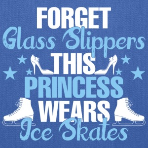Forget Glass Slippers This Princess Wear Ice Skate - Tote Bag