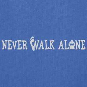 DOG NEVER WALK ALONE - Tote Bag