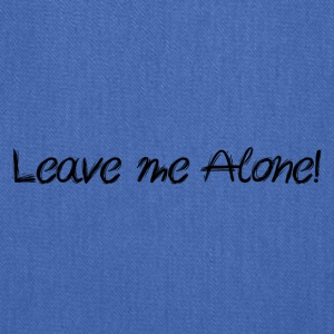 Leave me alone - by Fanitsa Petrou - Tote Bag