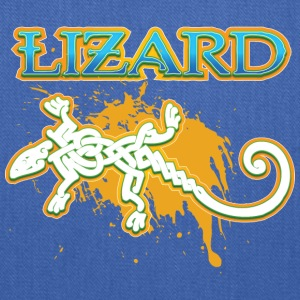Lizard_with_text_15 - Tote Bag