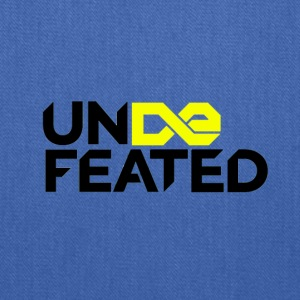 Undefeated (Jesus Fish) - Tote Bag