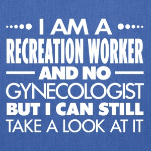 RECREATION WORKER - Gynecologist - Tote Bag