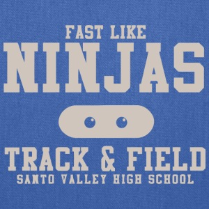 Fast Like Ninjas Track Field Santo Valley High S - Tote Bag