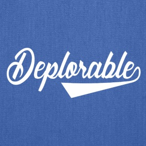 Deplorable - Tote Bag