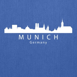 Munich Germany Skyline - Tote Bag