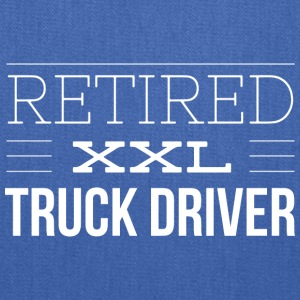 Retired XXL truck driver - Tote Bag