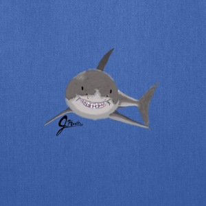 Great White Shark - Swaggy Shark - Tote Bag
