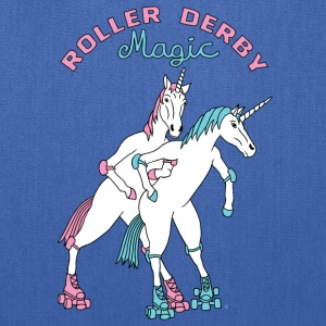 Roller Derby Magic Unicorns Ountline - Tote Bag