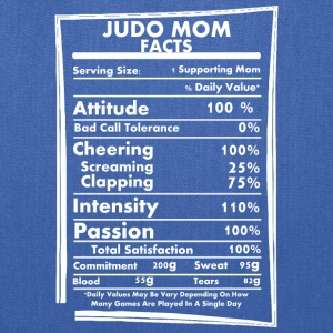 Judo Mom Facts Daily Values May Be Vary - Tote Bag