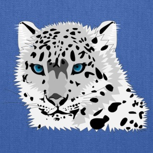 animal snow leopard - Tote Bag