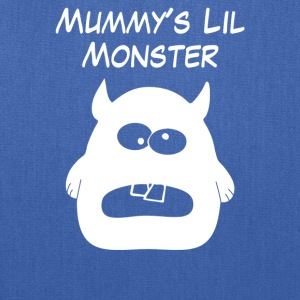 Mummys Little Monster - Tote Bag