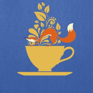 fox tea - Tote Bag