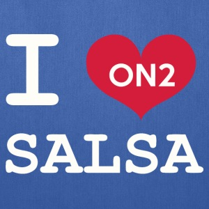 I Love Salsa On 2 - Tote Bag