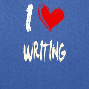 I love WRITING - Tote Bag