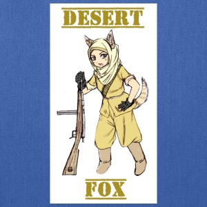 Desert Fox Soldier Girl - WW2 - Tote Bag