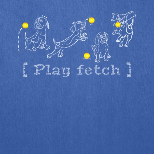 Play Fetch - Tote Bag