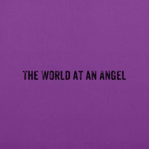 The World at an Angel - Tote Bag