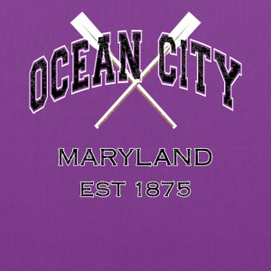 Ocean City Maryland Established 1875 - Tote Bag