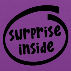 surprise inside (1824A) - Tote Bag