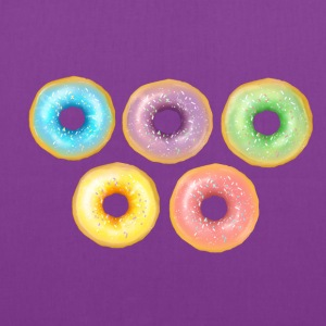 Rainbow Donuts - Tote Bag