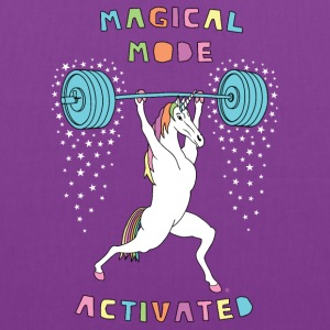 Magical Mode Unicorn Outline - Tote Bag