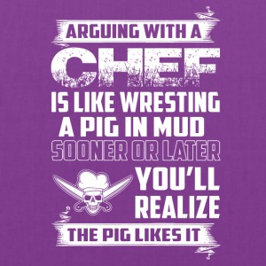 Arguing with a Chef - Tote Bag