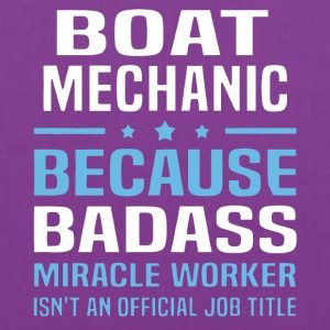 Boat Mechanic T Shirt - Tote Bag