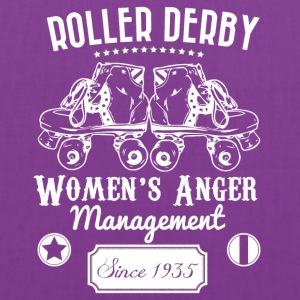 Roller Derby - Women's Anger Management Since 1935 - Tote Bag