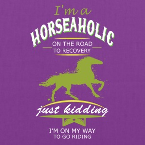 i m a horse on the road - Tote Bag