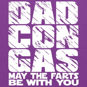 Dad Con Gas - may the fart be with you - Tote Bag
