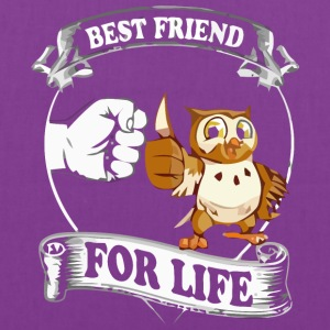 New Owl Best Friend For Life - Tote Bag