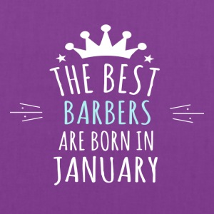 Best BARBERS are born in january - Tote Bag