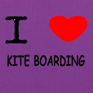 I LOVE KITE BOARDING - Tote Bag