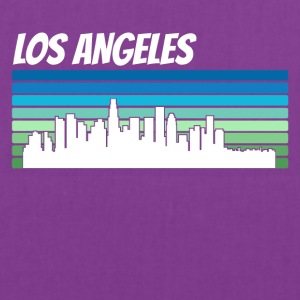 Retro Los Angeles Skyline - Tote Bag