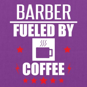 Barber Fueled By Coffee - Tote Bag