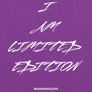 I AM LIMITED EDITION - Tote Bag