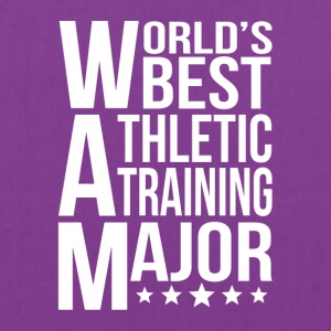 World's Best Athletic Training Major - Tote Bag