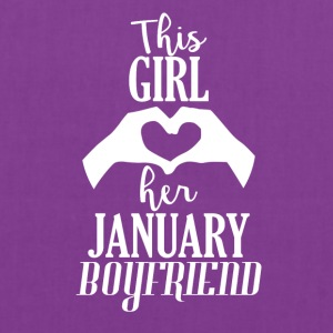 This Girl loves her January Boyfriend - Tote Bag