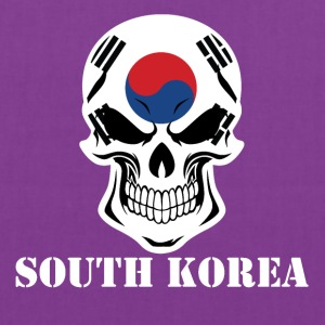 Korean Flag Skull South Korea - Tote Bag