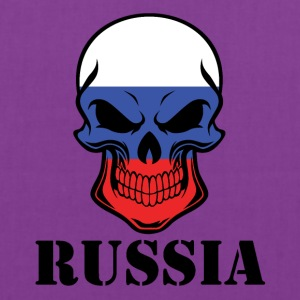 Russian Flag Skull Russia - Tote Bag