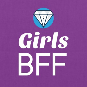 Girls BFF are Diamonds - Tote Bag