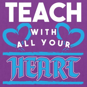 Teacher! Passion! With heart! - Tote Bag