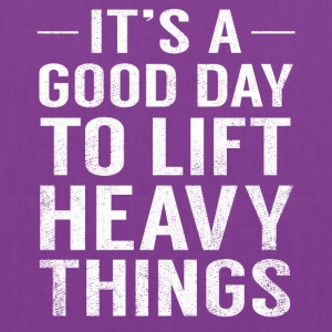 It's A Good Day To Lift Heavy Things Funny Fathers - Tote Bag